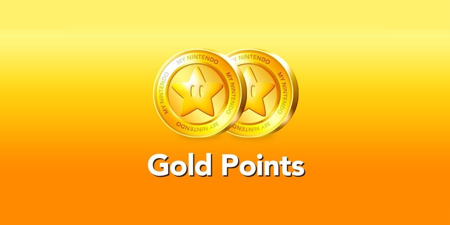 Gold Points Nintendo Switch
