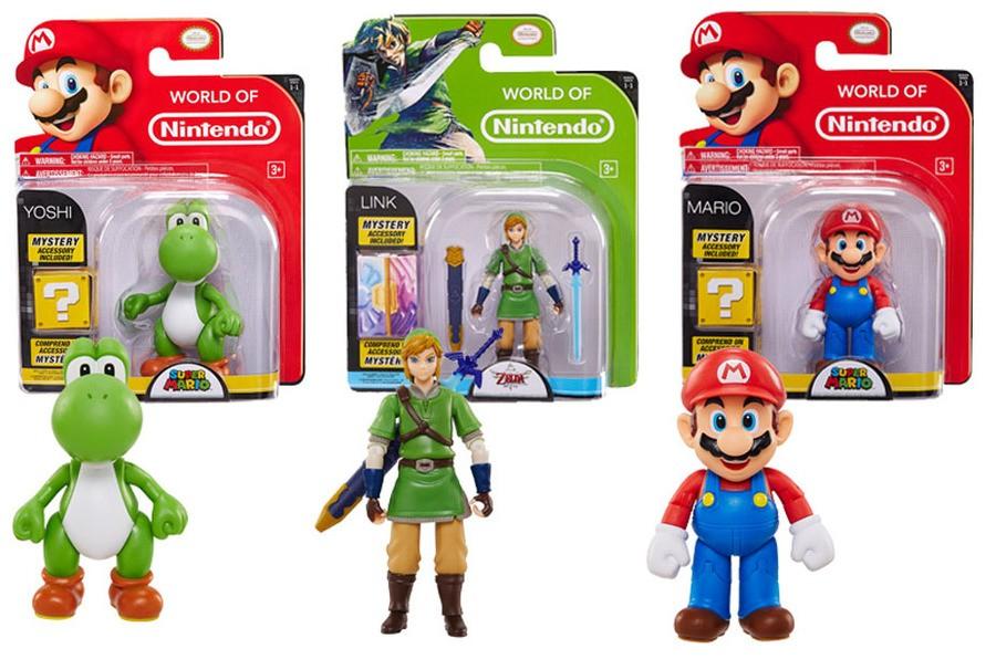 Jakks Pacific World of Nintendo 4- Inch Figures