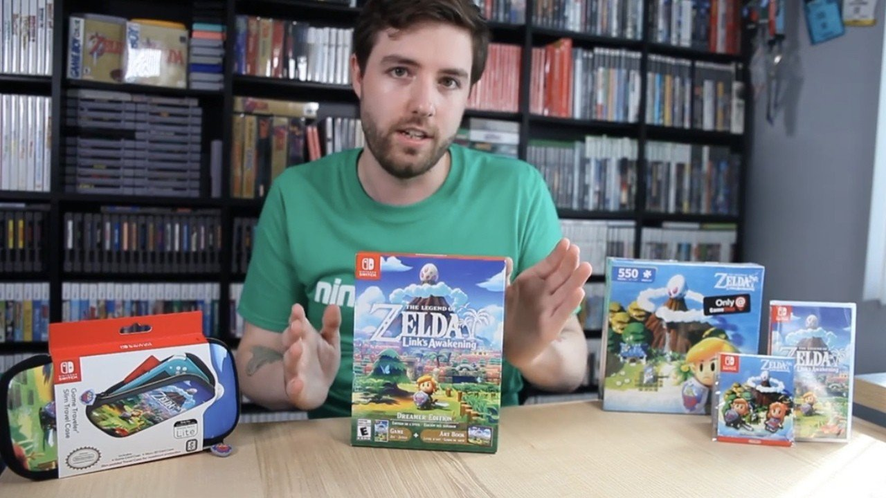 Video: Unboxing Zelda: Link's Awakening Dreamer Edition (AKA: The Less Exciting One)