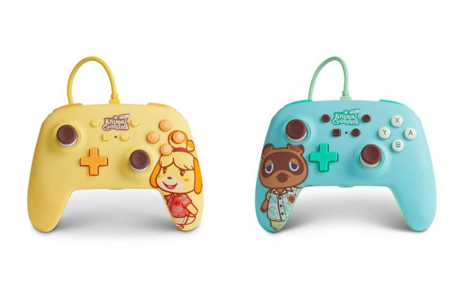 PowerA Is Releasing Two New Animal Crossing Controllers For Switch