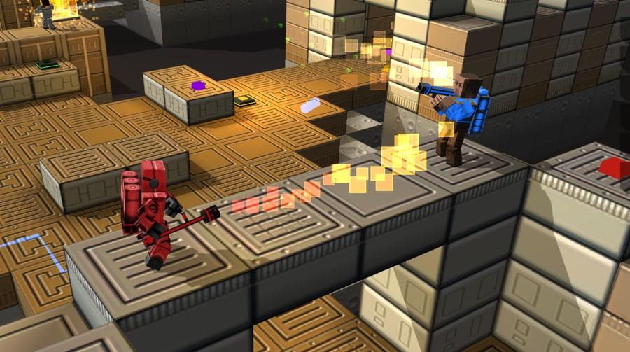 Cubemen 2 Screen