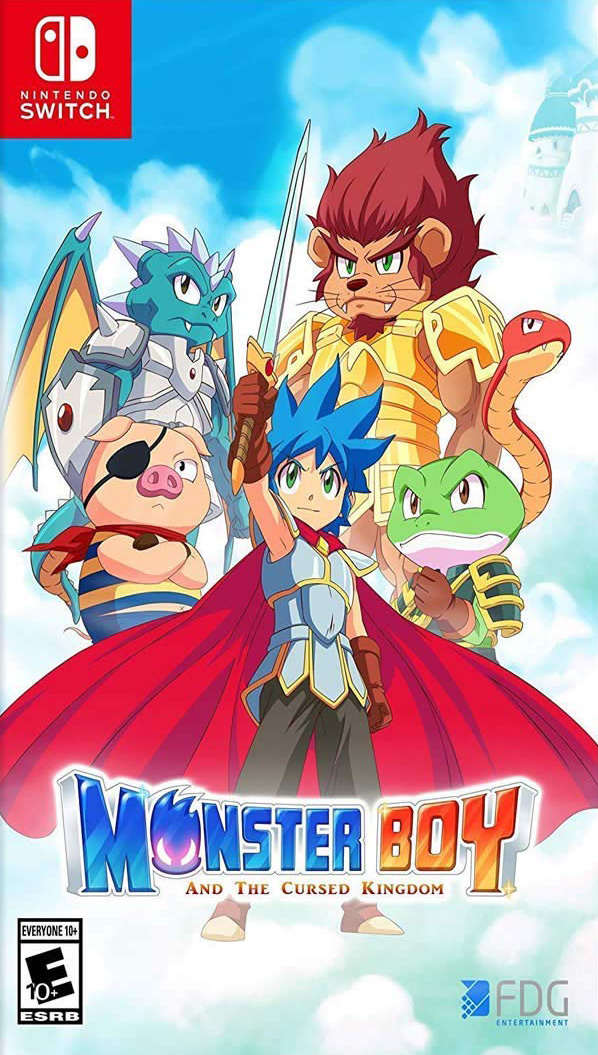 Monster Boy And The Cursed Kingdom Review Switch