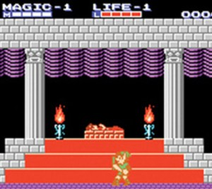Zelda II - the 97th game on the VC!
