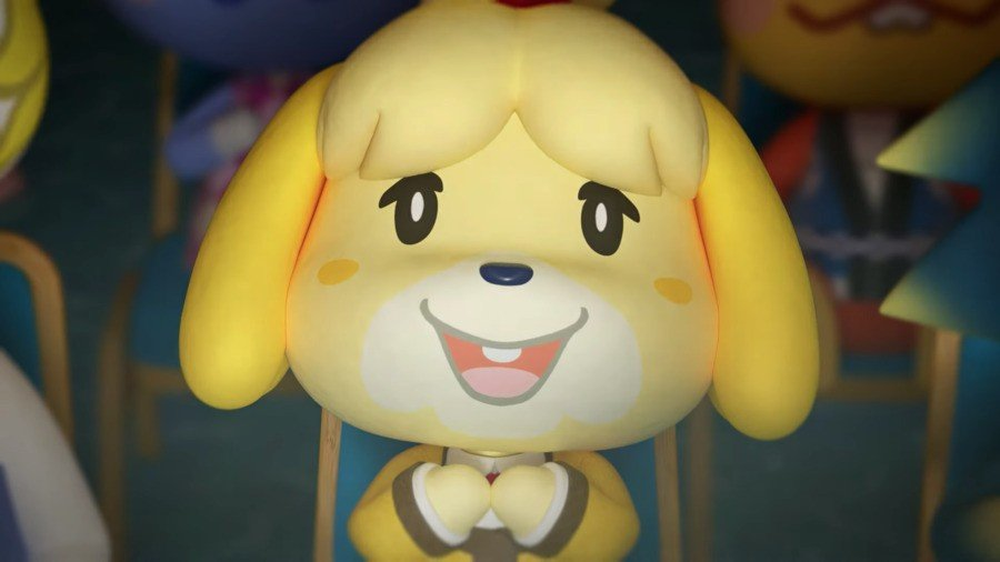Look, even Isabelle's delighted