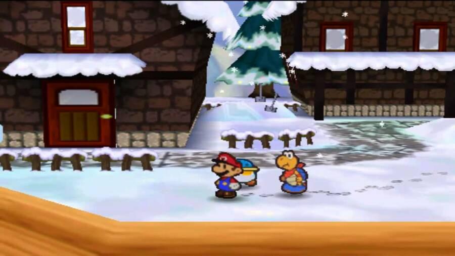 Paper Mario - Shiver City (N64)