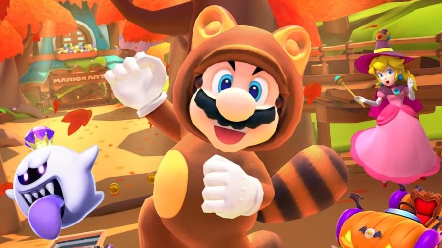 Mario Kart Tour Autumn