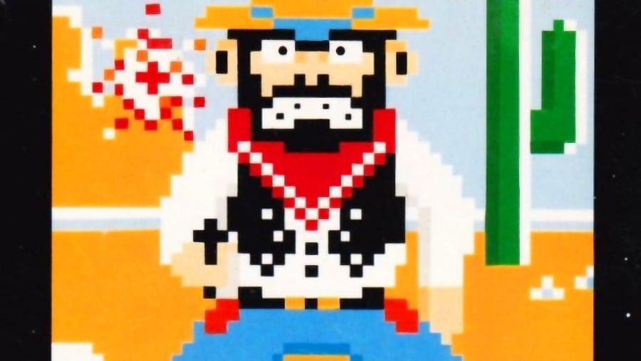 Wild Gunman NES Cover