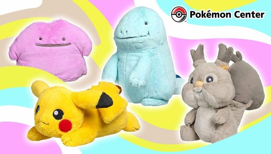 Pokemon Comfy Friends Plush