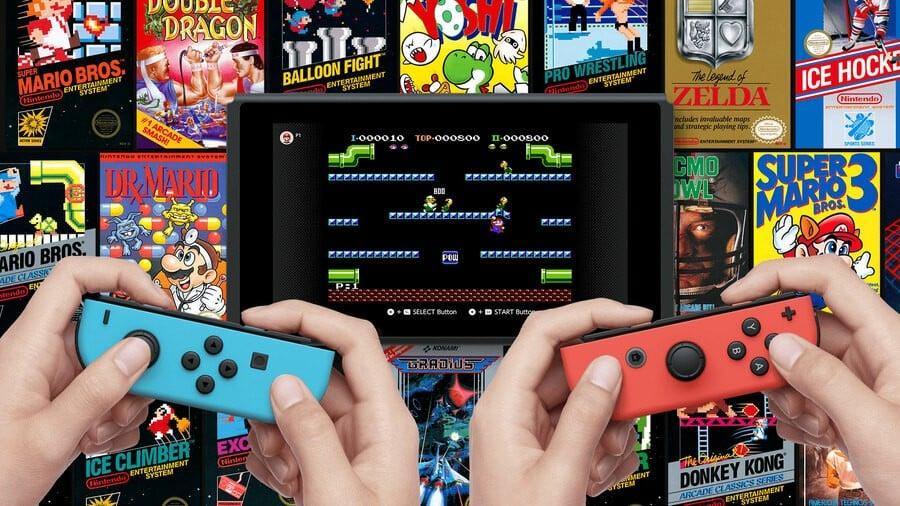 NES Nintendo Switch Online Games