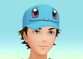 Squirtle Face Cap