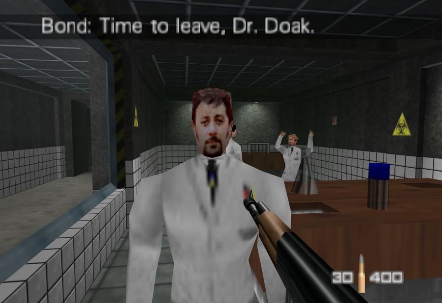 Dr Doak In GoldenEye 007