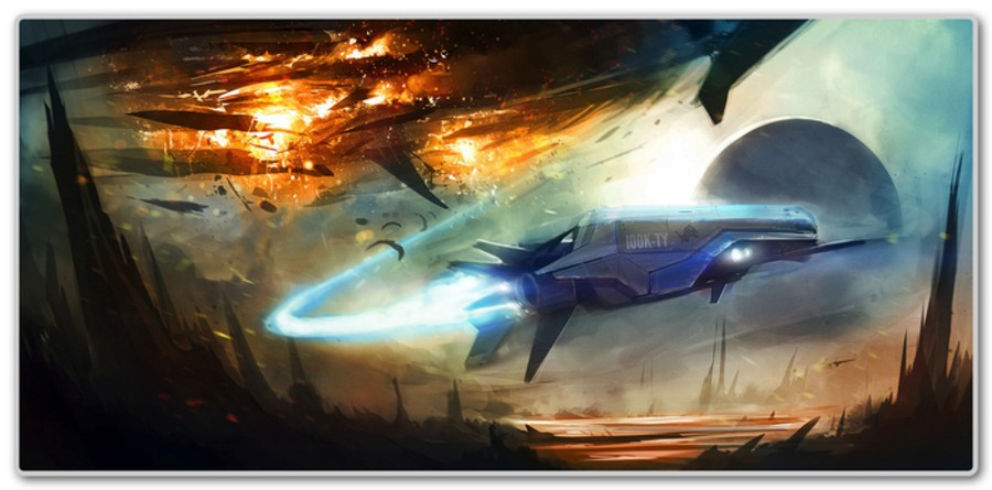 cool ships don't look at explosions