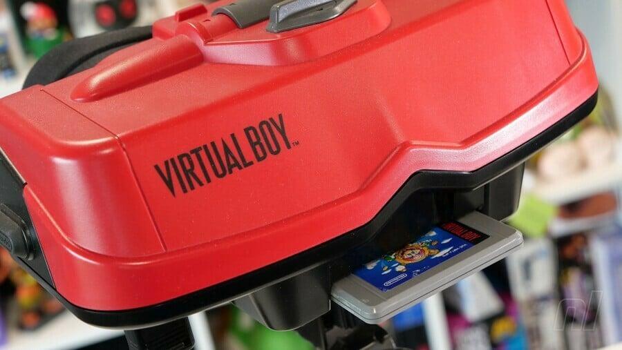 Virtual boy with shopping cart