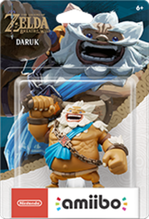 Daruk amiibo Pack