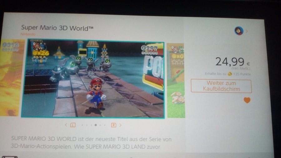 Super Mario 3D World on Switch?