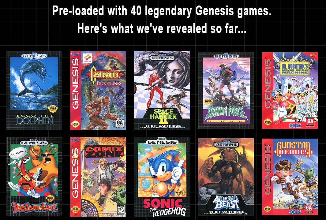 Mega Drive Mini Games List: All 42 Titles Revealed