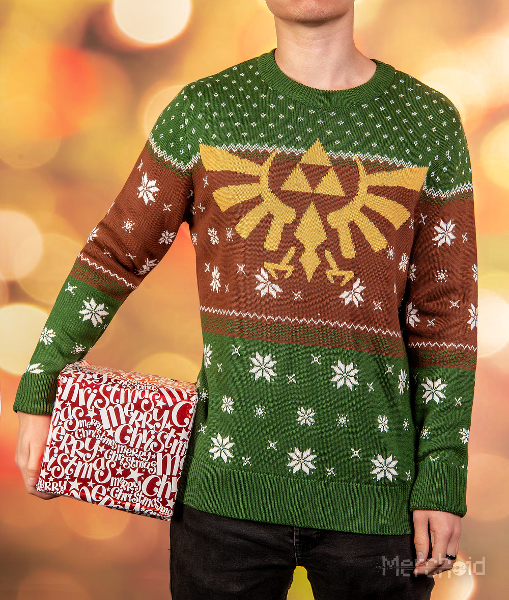 Tis The Season For A New Line Of Nintendo Christmas Sweaters, Pre ...