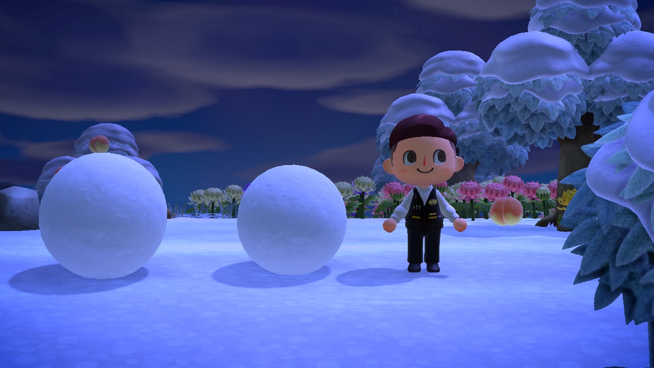 Ideal Height for Snowballs