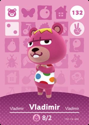 Vladimir amiibo card