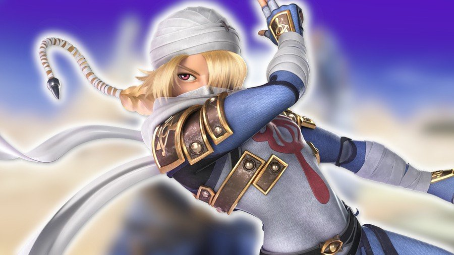 Sheik, as seen in Super Smash Bros. Ultimate