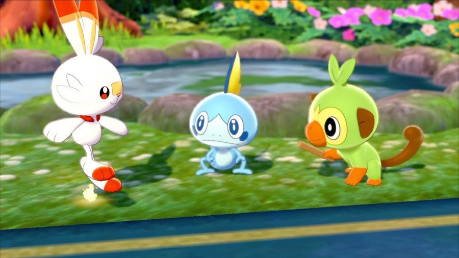 Pokémon Sword and Shield Starters