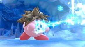 Kirby as Sora
