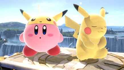 8. Pikachu Kirby