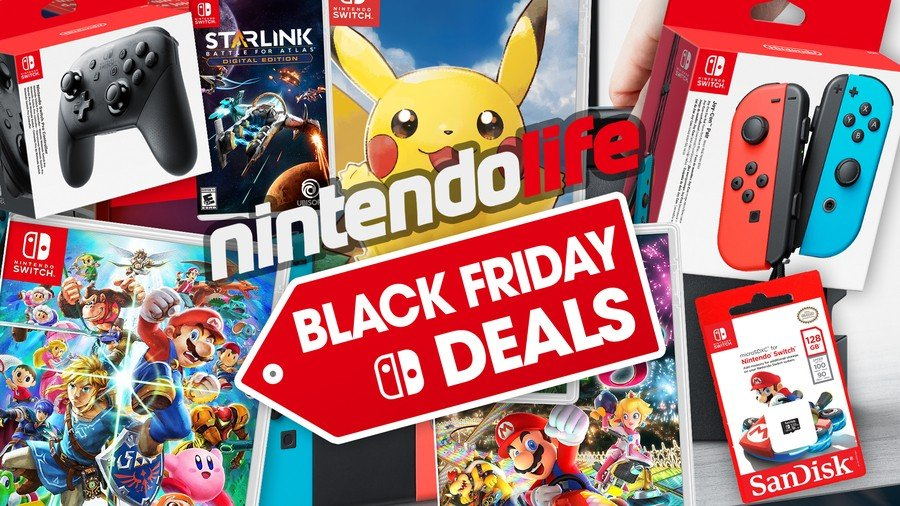 Best Nintendo Switch Black Friday 2018 Deals