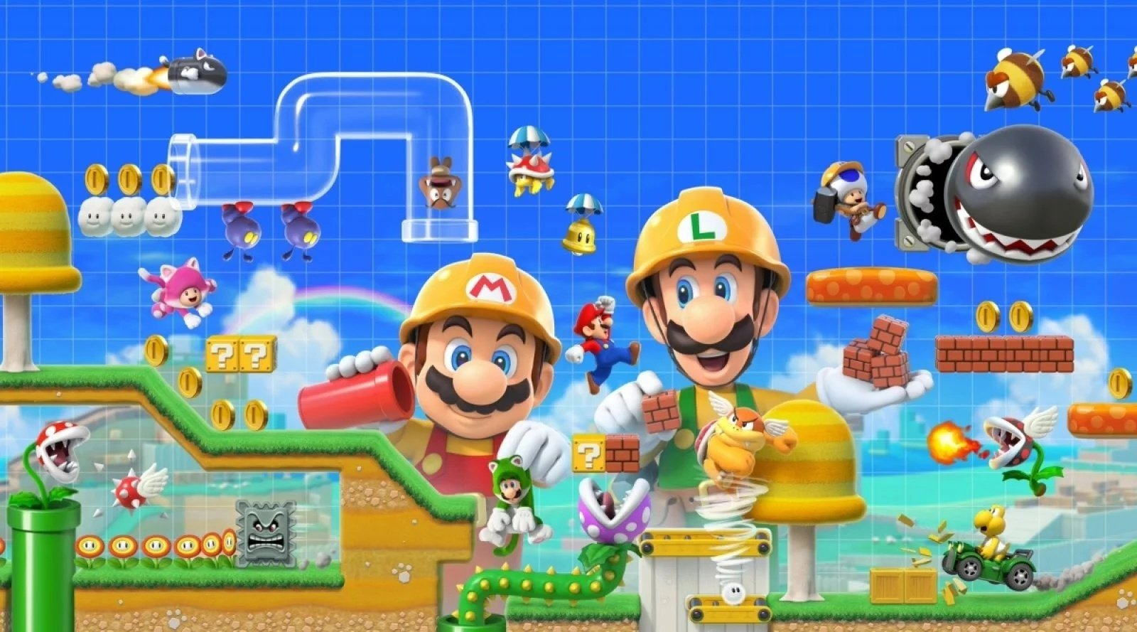 Japanese Charts: Super Mario Maker 2 Stays In Top Spot, As Switch Sales Slightly Drop