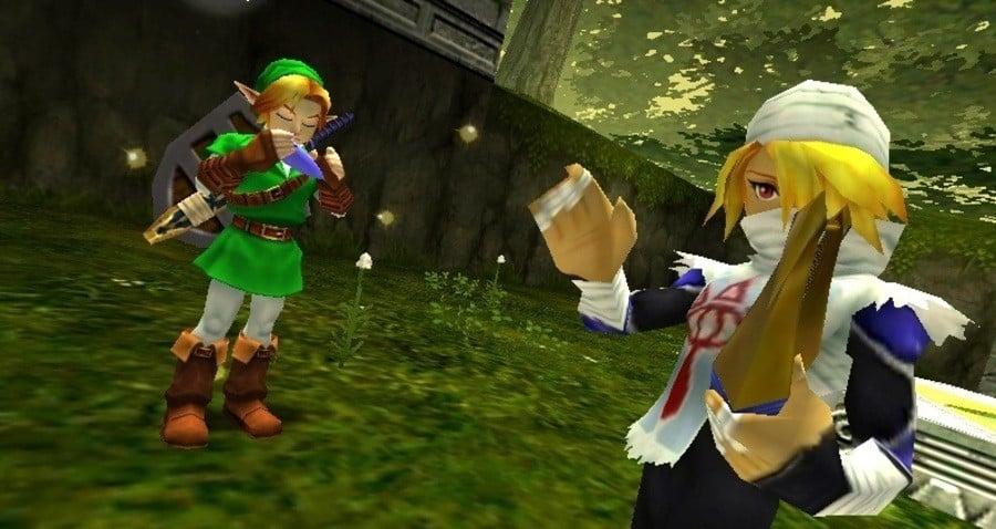 The Legend of Zelda Ocarina of Time 3 Ds