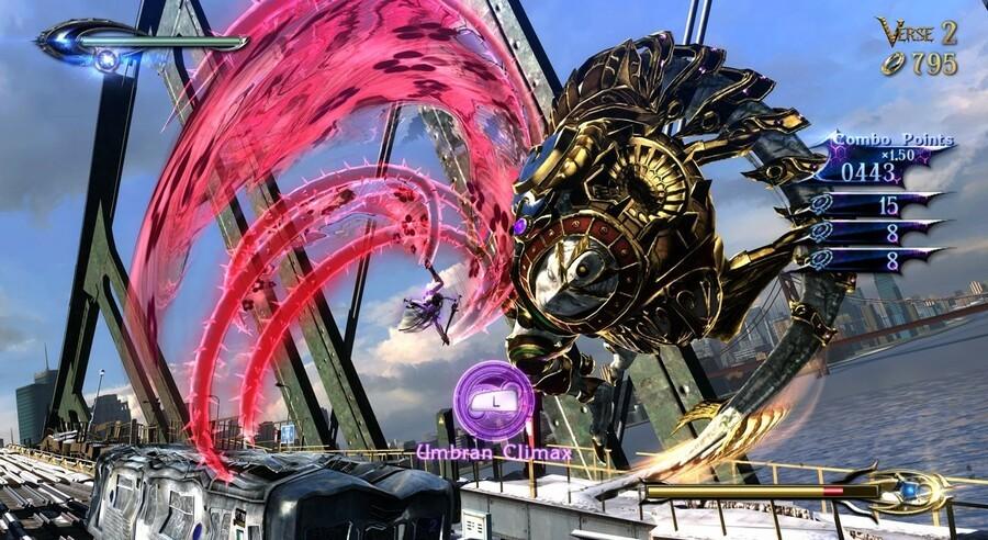 Bayonetta 2 Screen