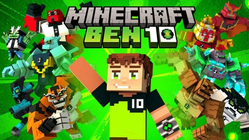Defeat Evil With Minecraft's New Ben 10 DLC, Now Available On The Marketplace