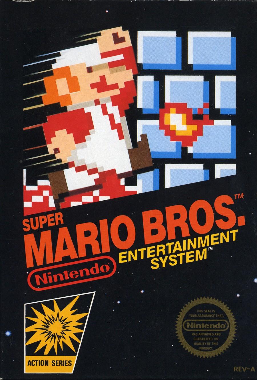 Mario Bros. Box