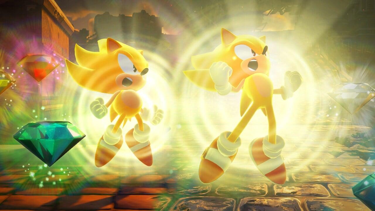 """Resulta que Super Sonic estaba casi en la película de Sonic, pero """"todavía no tenía sentido"""" 54"""