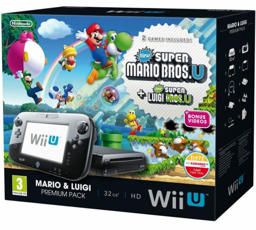 Mario Bros Wii Ubundle