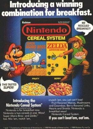 Nintendo: It's what's for breakfast
