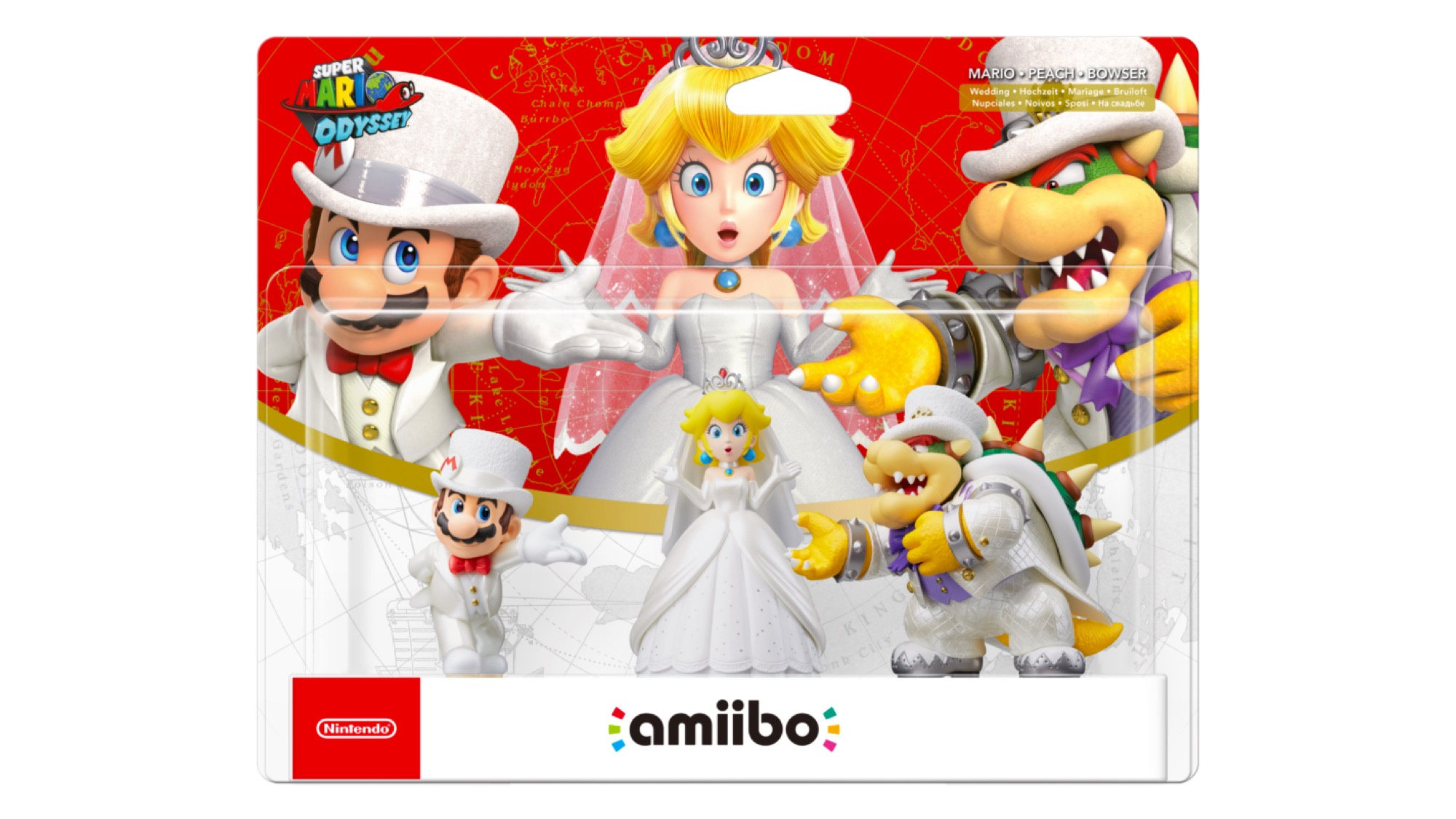 Super Mario Odyssey S Wedding Amiibo Are Being Restocked In North