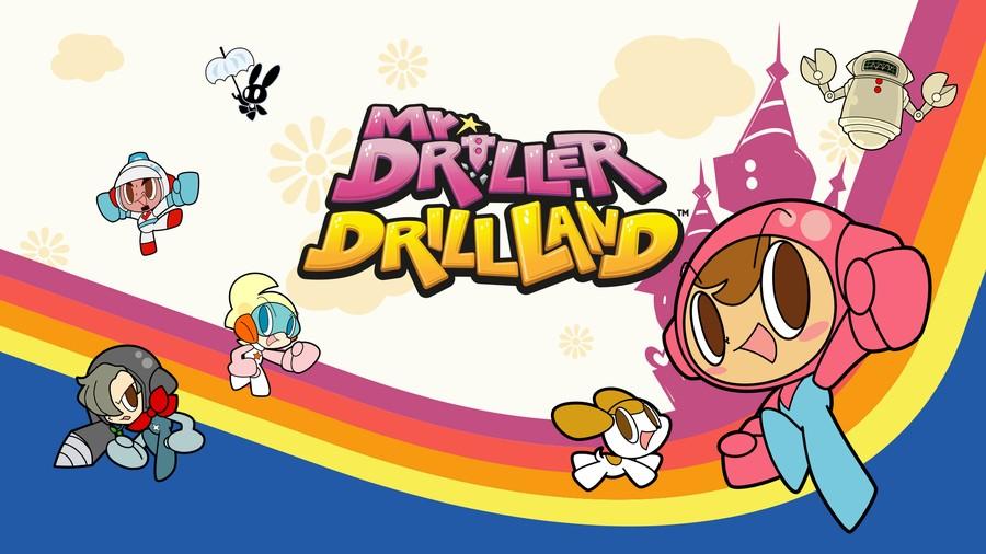 Mr. Driller DrillLand Nintendo Switch