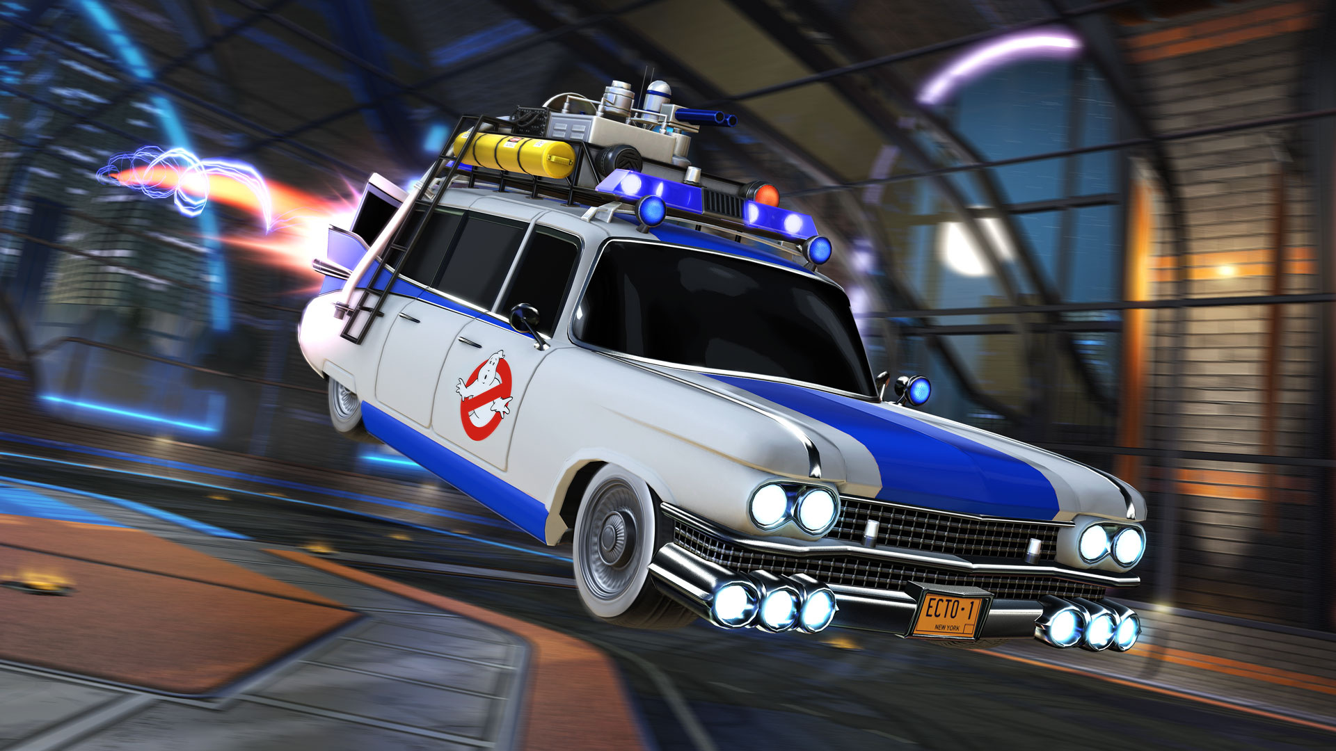 Rocket League's Radical Summer Event Brings 80s Themed Cars, Items, and Modes