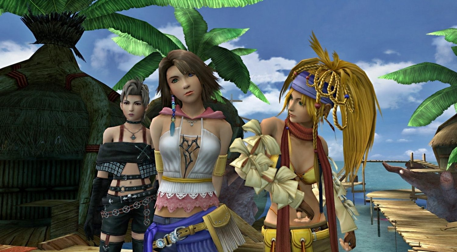 Import Copies Of Final Fantasy X | X-2 HD Remaster Include Two Game