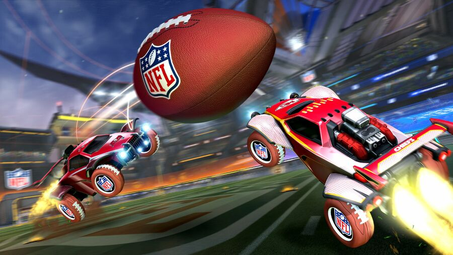 Rocket League x NFL