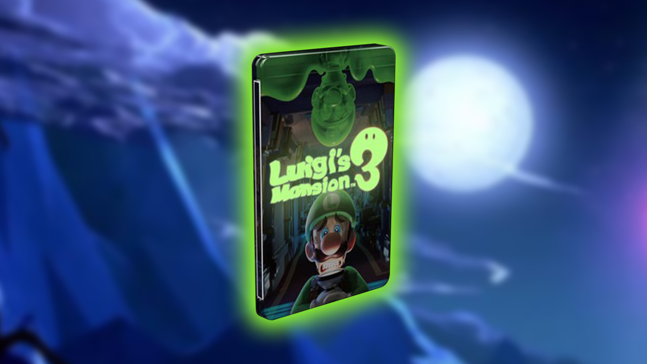 Preorder Luigi's Mansion 3 And Grab A Ghoulish Glow In The Dark Steelbook