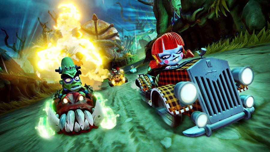 Crash Bandicoot Spooky Grand Prix