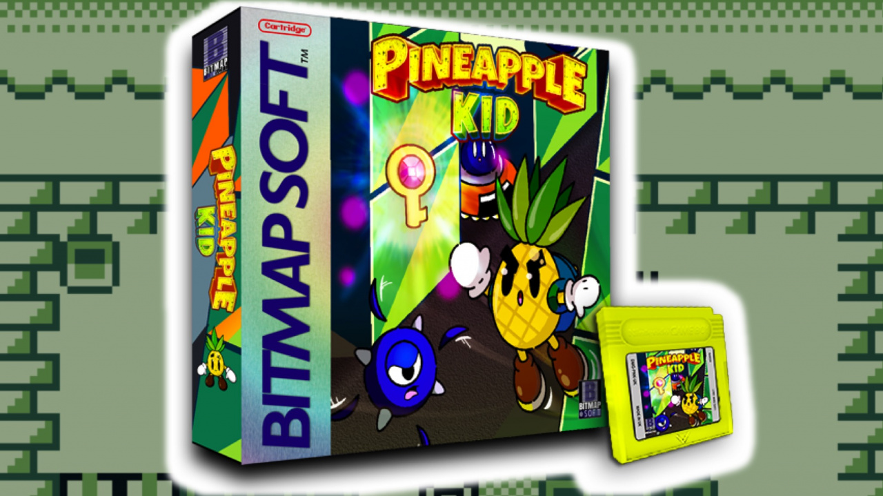 Pineapple Kid Is A New Game Boy Game Launching In Time For Christmas