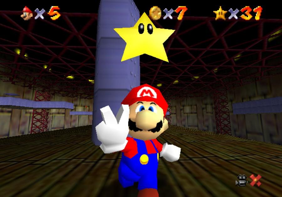 amiibo in Mario 64