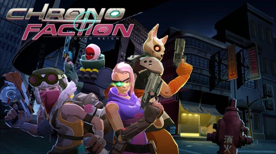 Chrono Faction Keyart