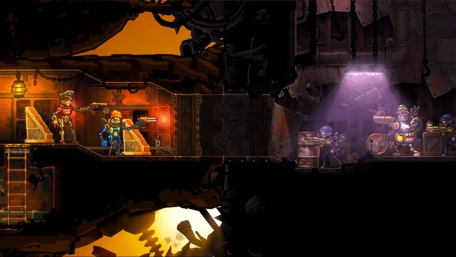 Steam World Heist Screenshot 1