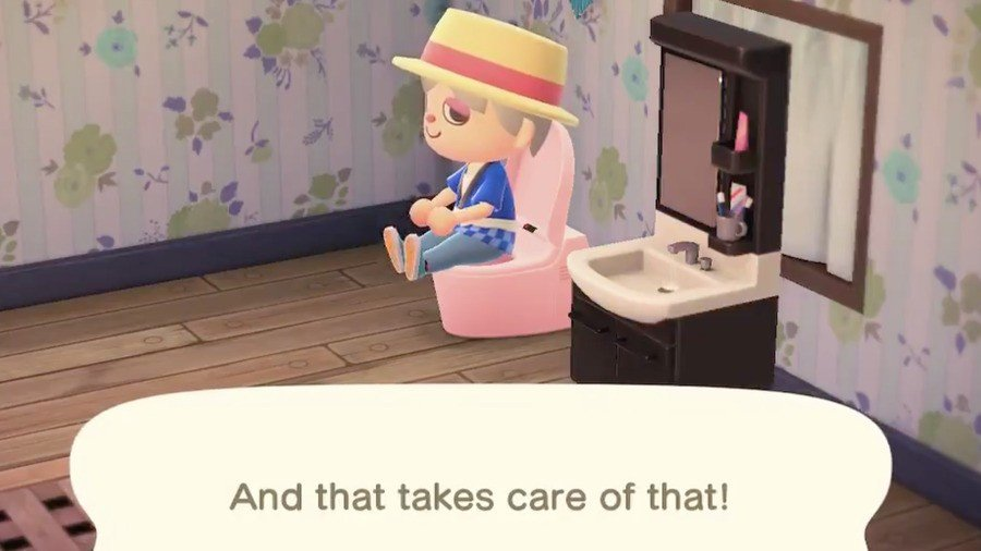 Animal Crossing New Horizons Toilet