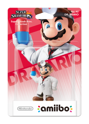 Dr. Mario amiibo Pack