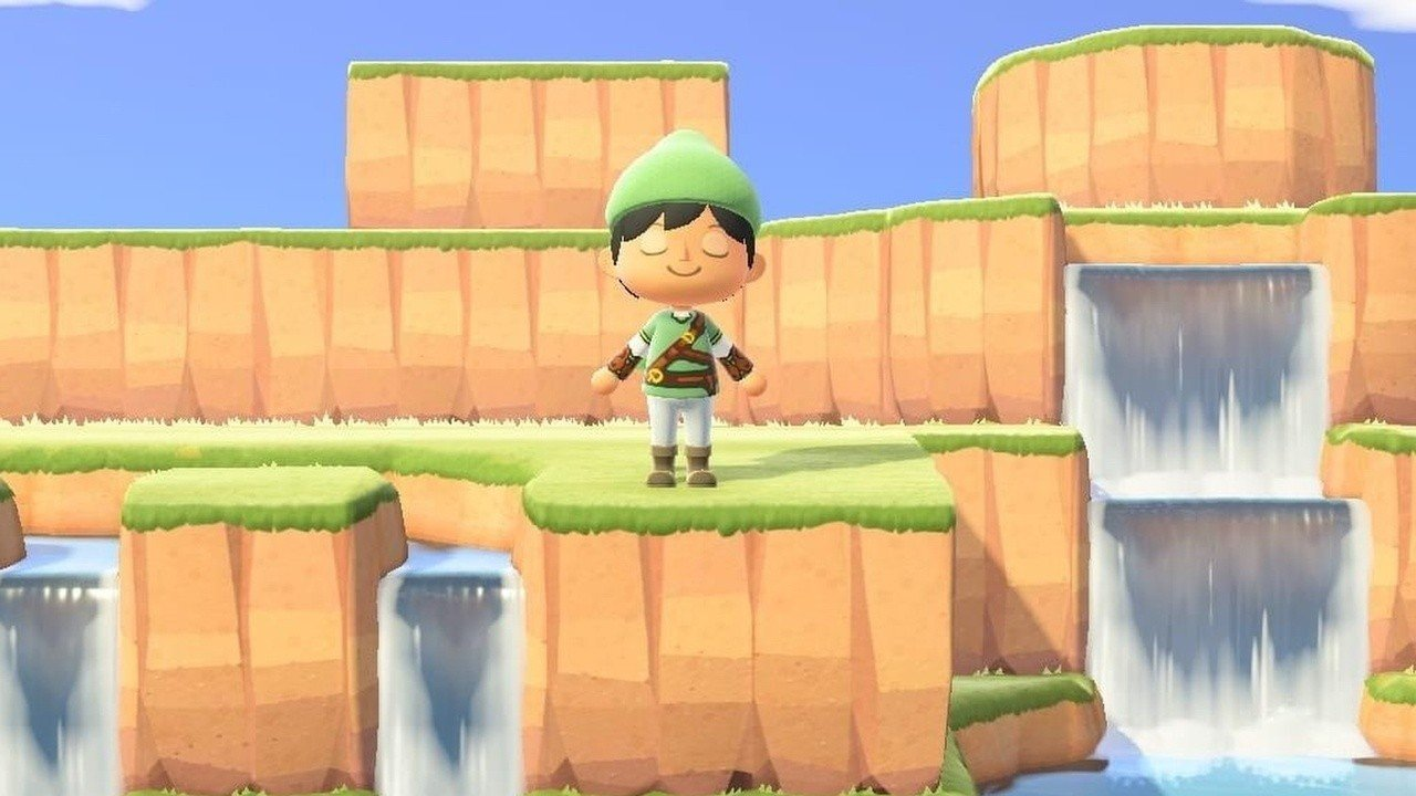 Aleatorio: Alguien hizo la totalidad de Hyrule de Zelda en Animal Crossing: New Horizons 49